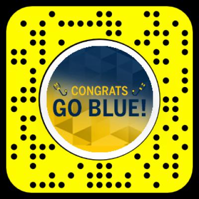 Congrats Go Blue!
