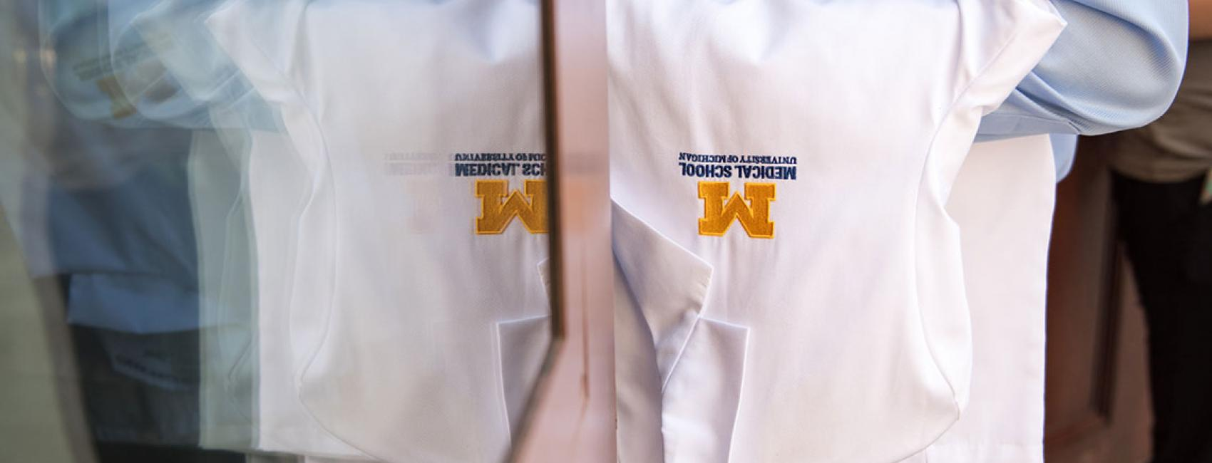 University of Michigan Medical School white coat