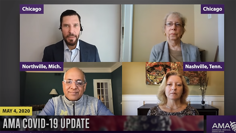 American Medical Association video update for May 4, 2020