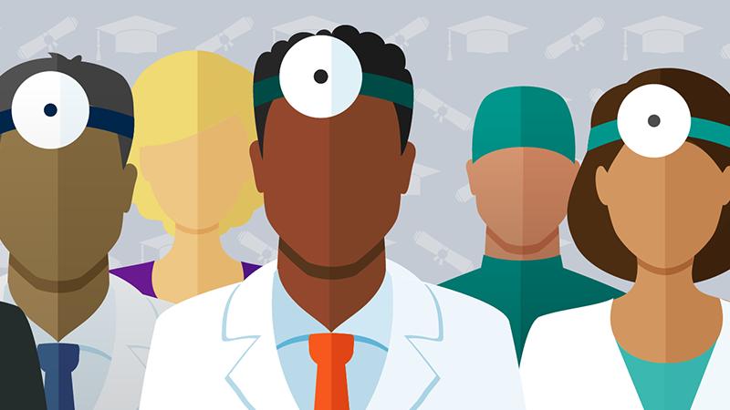 Achieve Diversity Among Doctors