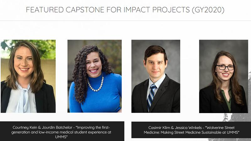 Capstone for Impact featured projects