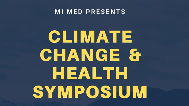 Climate Change and Health Symposium