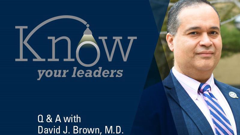 David J. Brown, M.D.