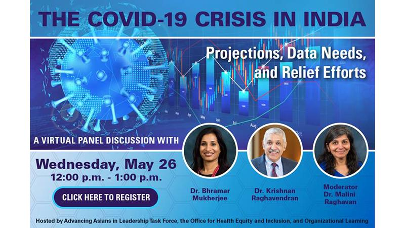 The COVID-19 Crisis in India: Projections, Data Needs, and Relief Efforts