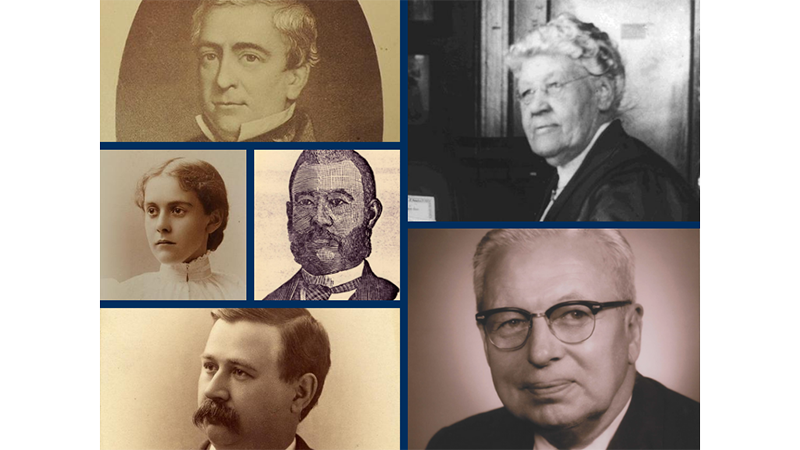 Famous faces from Michigan Medicine history