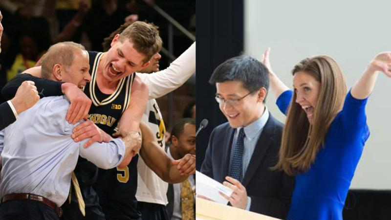 Michigan basketball and Medical School Match Day