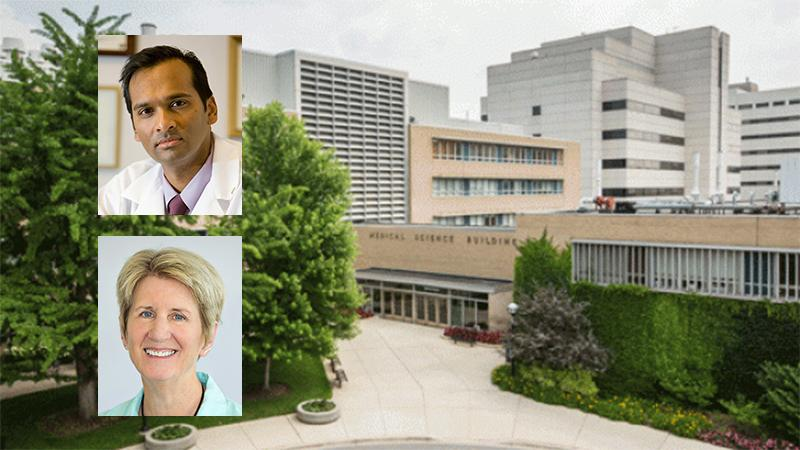 Arul M. Chinnaiyan, M.D., Ph.D., and Janet L. Smith, Ph.D.
