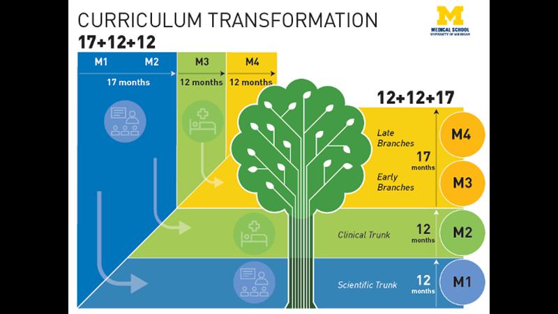 UMMS curricular transformation