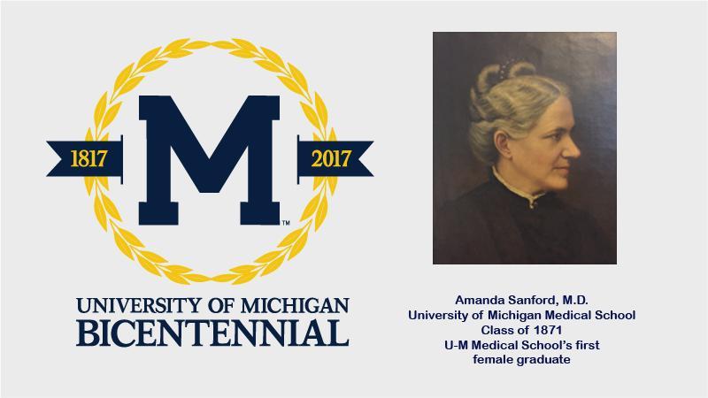 Medical School bicentennial: Amanda Sanford