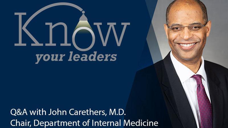 John M. Carethers, M.D.