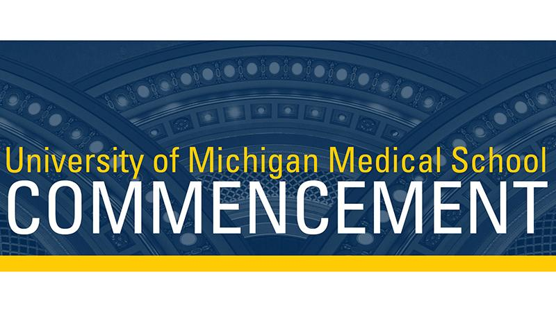 Medical School commencement