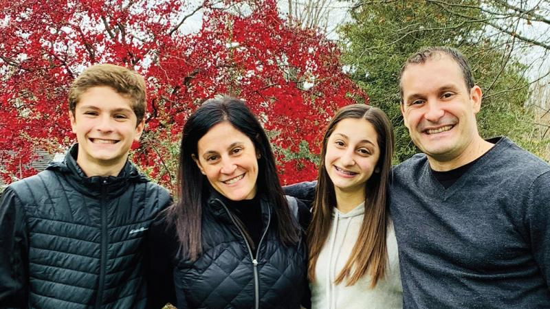 Deborah Berman, M.D., and her family