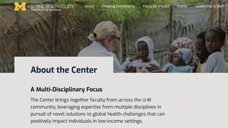 Center for Global Health Equity