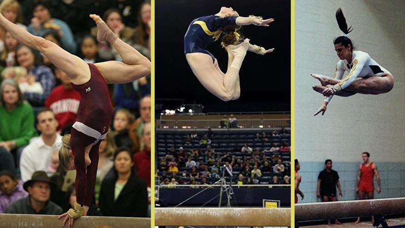 Former gymnasts and now U-M doctors
