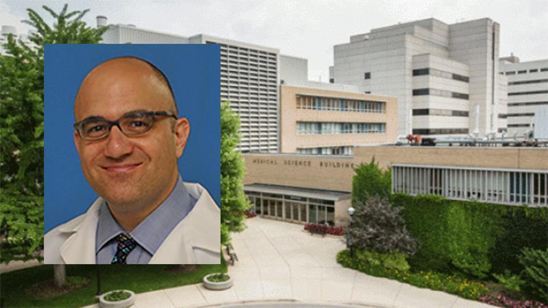 George A. Mashour, M.D., Ph.D., named chair of Anesthesiology