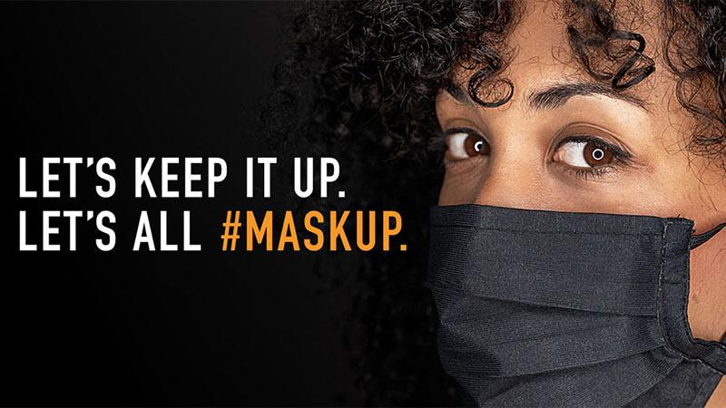 #maskup campaign