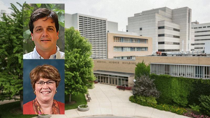 Anthony Antonellis, Ph.D., and Bethany B. Moore, Ph.D., named to leadership posts