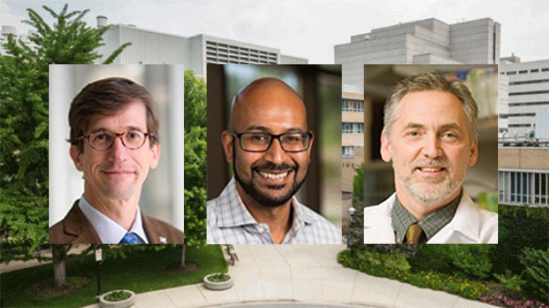 Santiago Schnell, D.Phil., Srijan Sen, M.D., Ph.D., and Henry L. Paulson, M.D., Ph.D.