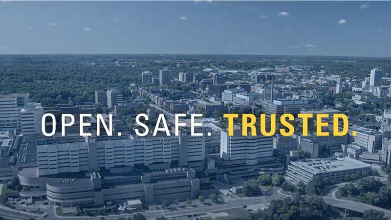 Michigan Medicine is open, safe