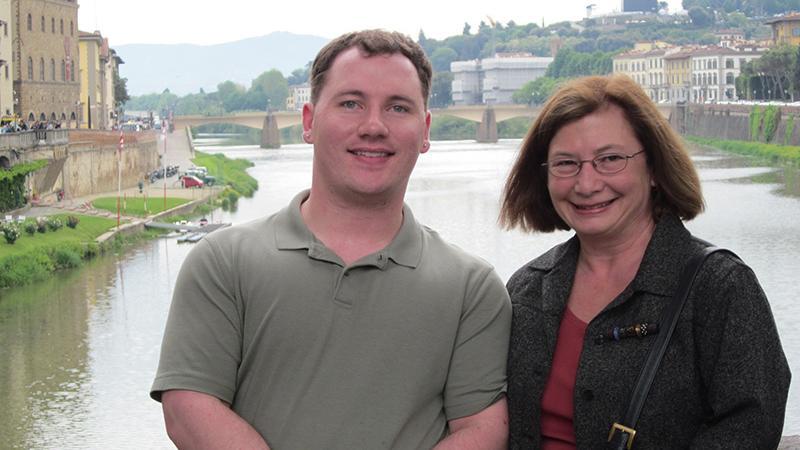 Sally Camper & Erik Lyons in Florence