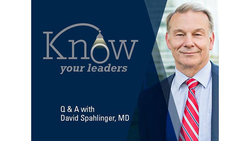 David A. Spahlinger, M.D.