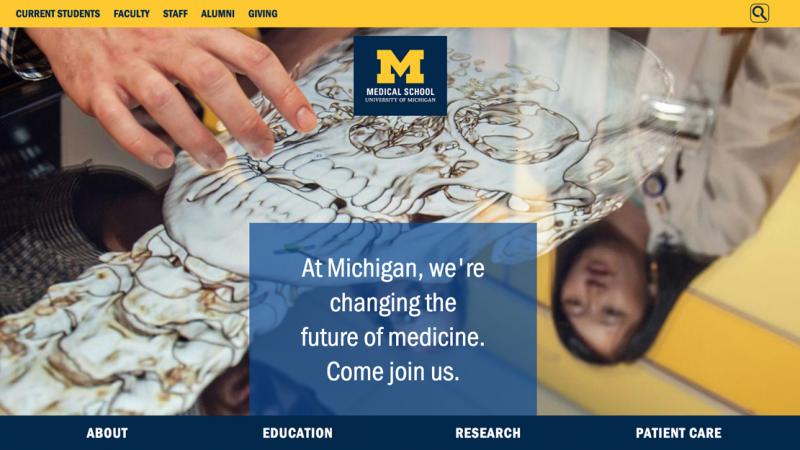 Medical School website