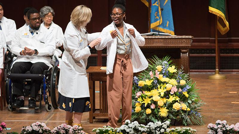 University of Michigan White Coat Ceremomy