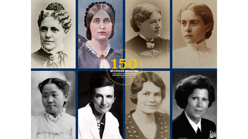 Women in the history of medicine at Michigan