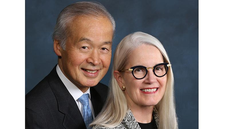 Dr. Tadataka Yamada and Leslie Yamada