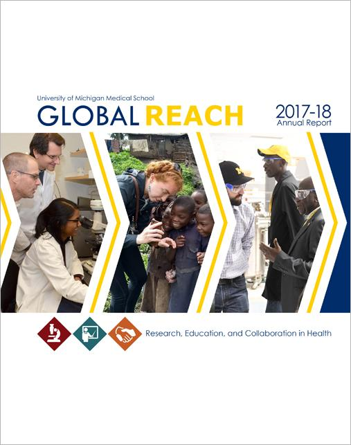 Cover of Global REACH Annual report for 2017-18