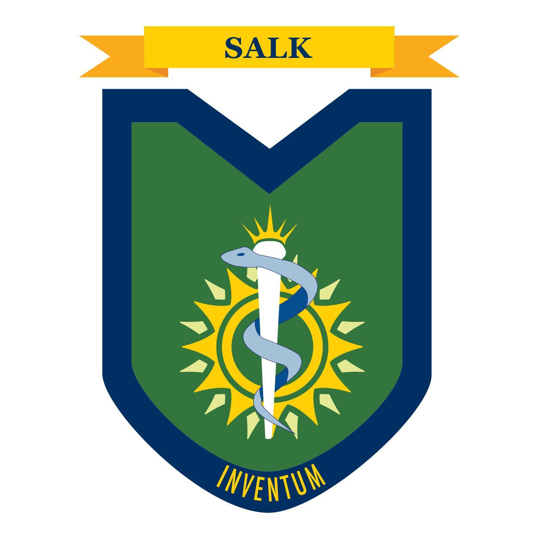 Salk House insignia