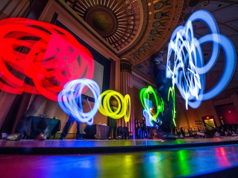 Art performance in Ann Arbor