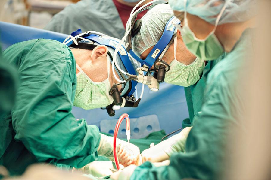Surgeons in the OR