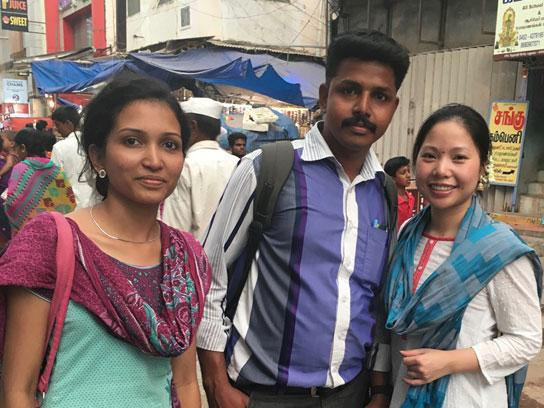 Students on a global health trip