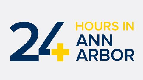 24 Hours in Ann Arbor graphic