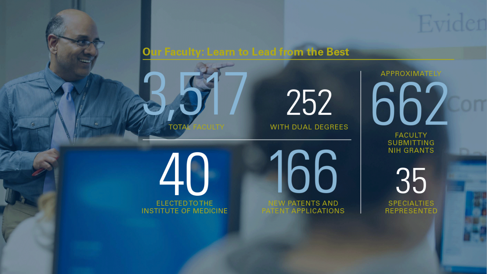 Faculty infographic