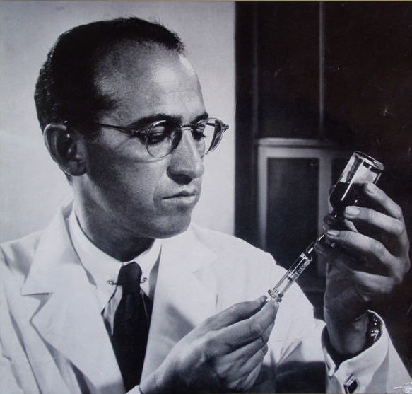 Image result for jonas Salk in photos