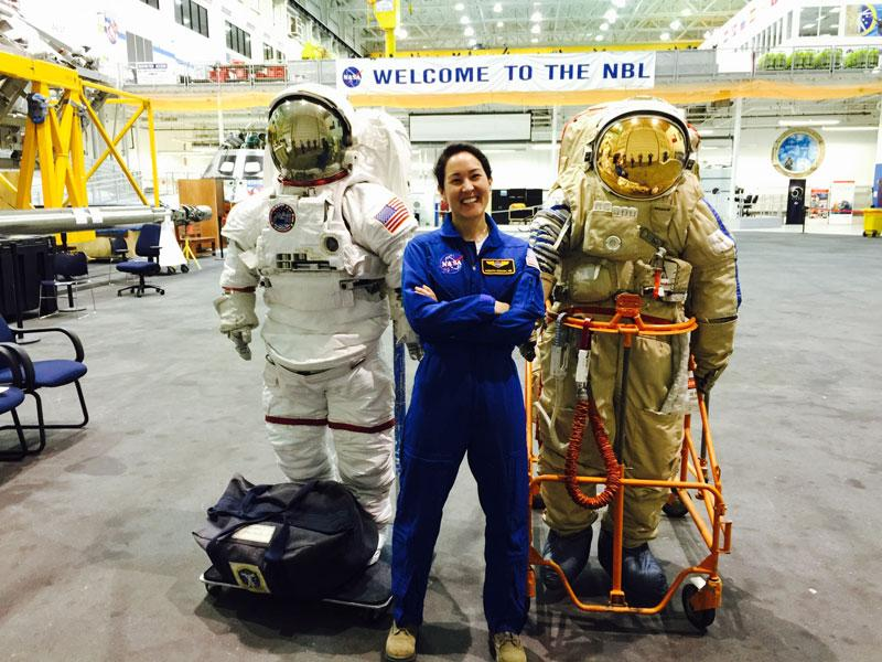 NASA physician and Michigan alumna