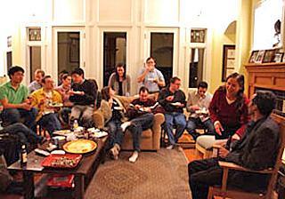 MSTP social gathering