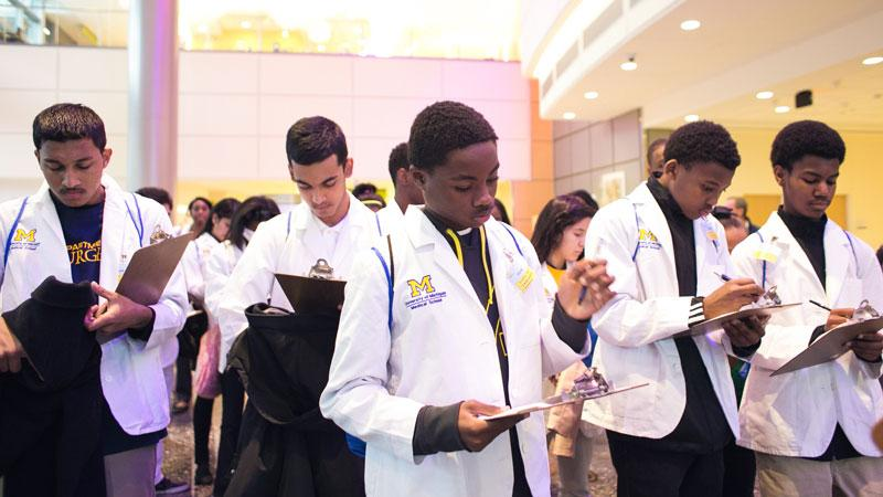 Students in the Doctors of Tomorrow program
