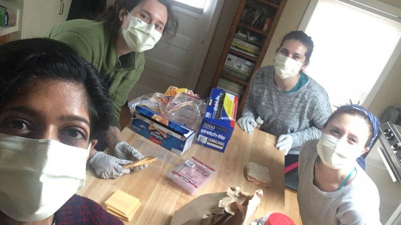 Michigan medical students volunteering time to help with COVID-19