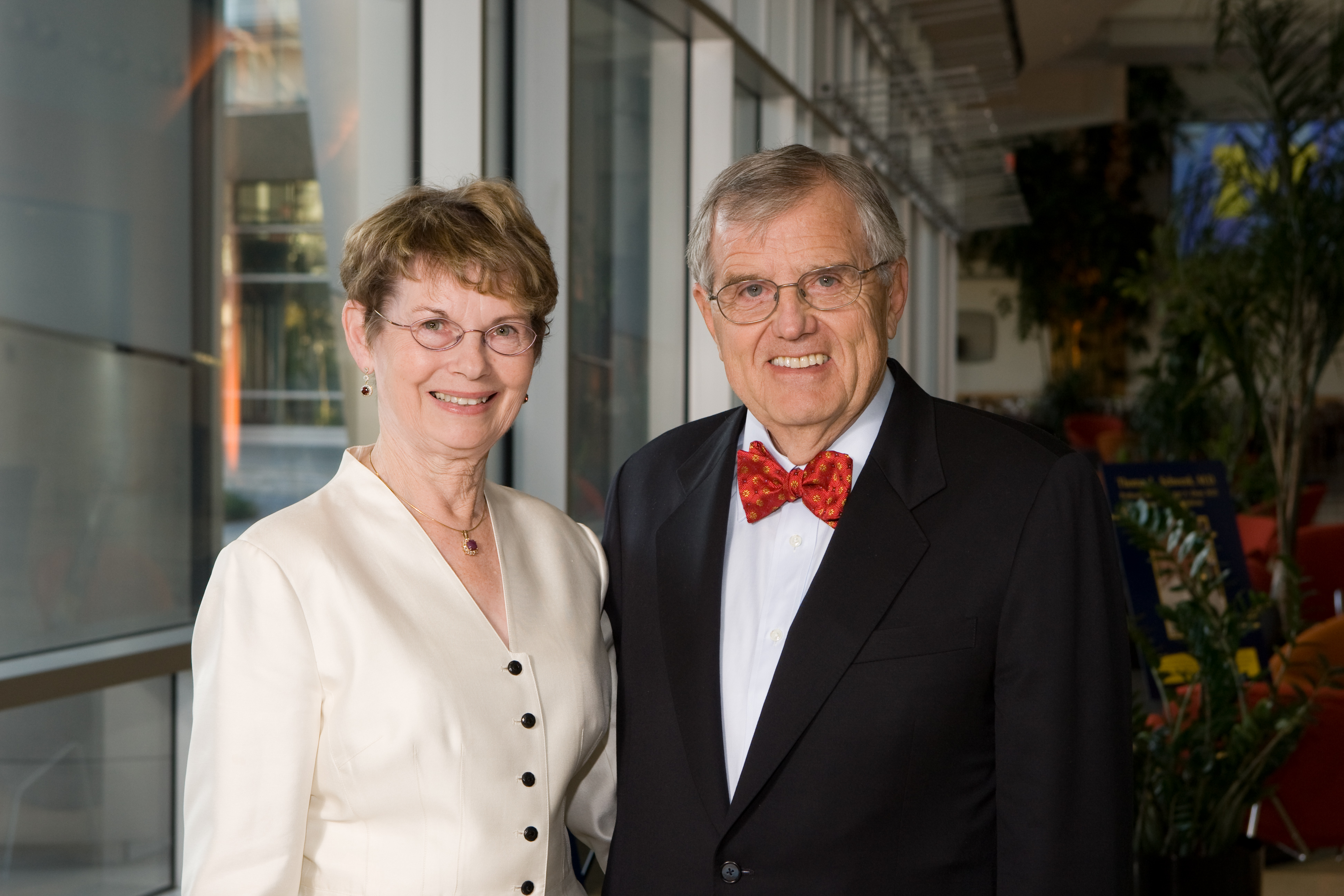 Christel and Dale Williams, M.D.