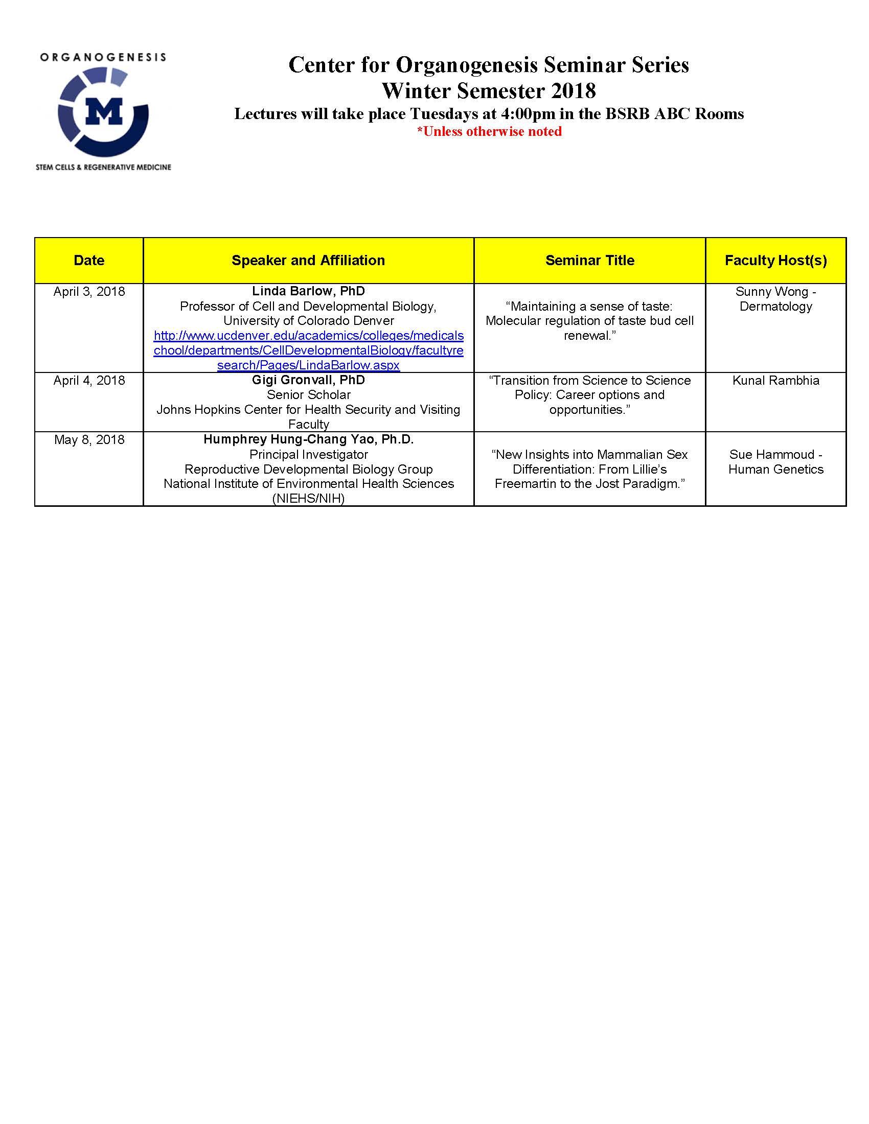 2017-2018 Seminar Schedule Rev 5