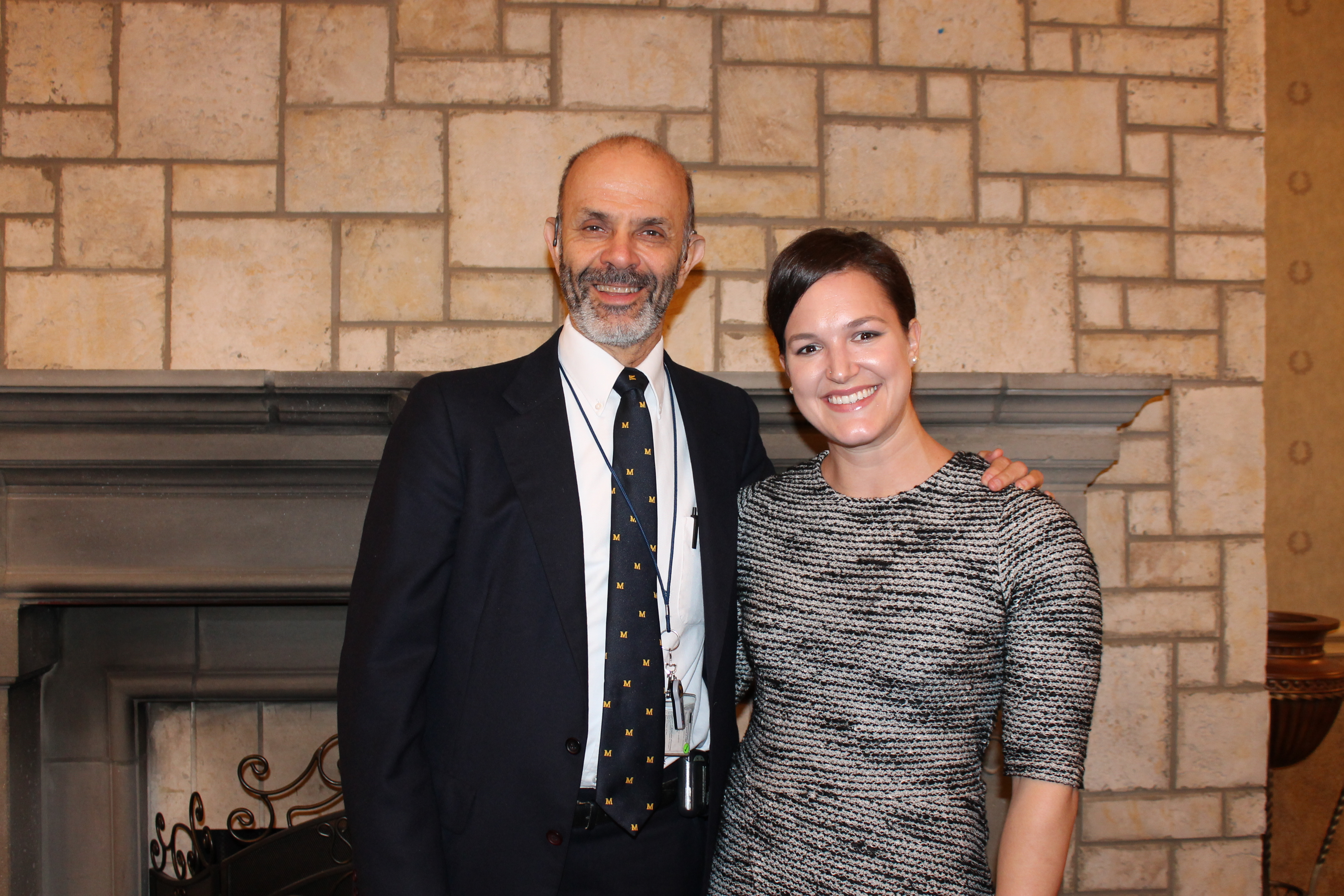 Philip Zazove, M.D. and Lindsey Kolar