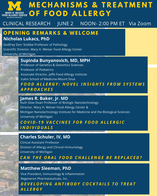 food allergy scientific symposium