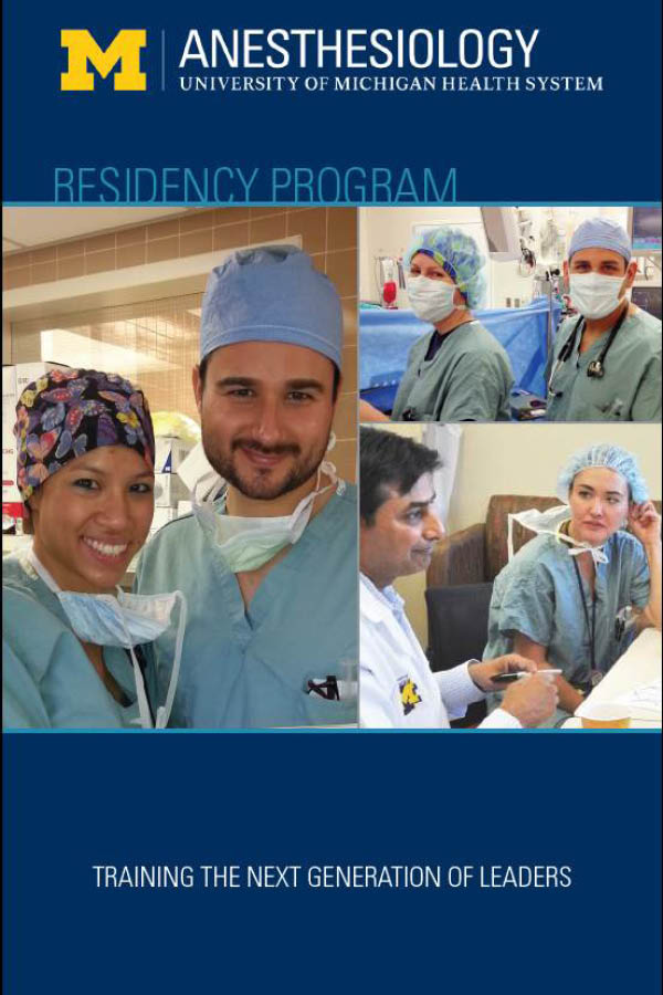Our Residents | Anesthesiology | Michigan Medicine ...