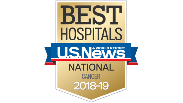 US News- Best cancer hospitals 2018-19