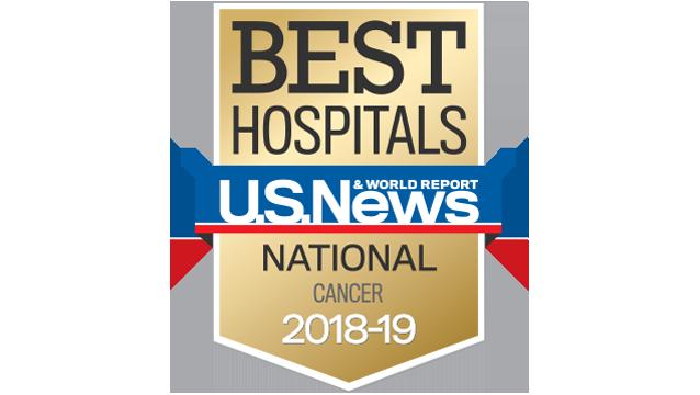 US News- Best cancer hospitals 2018-19