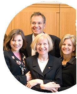 Dr. Feldman in center, Dr. Reubinoff behind