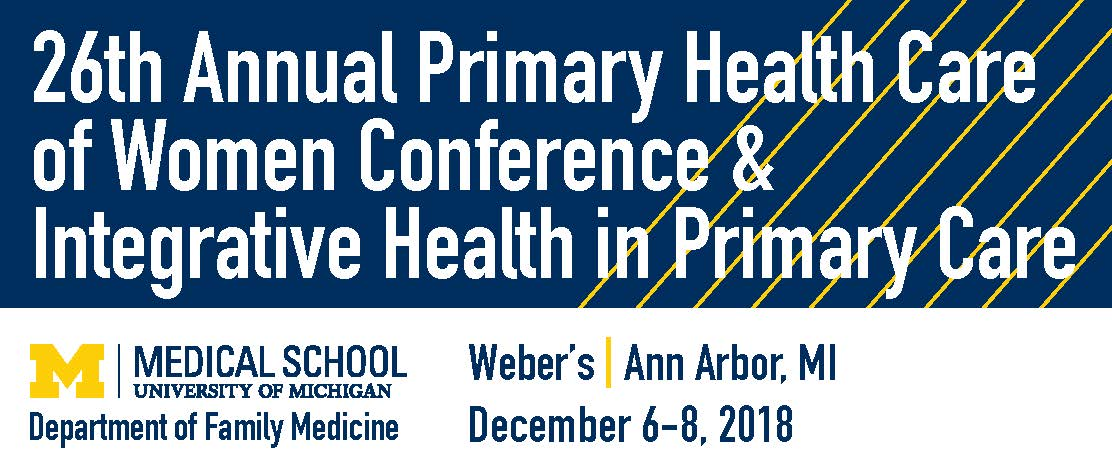 26th Annual Primary Health Care of Women Conference & Integrative